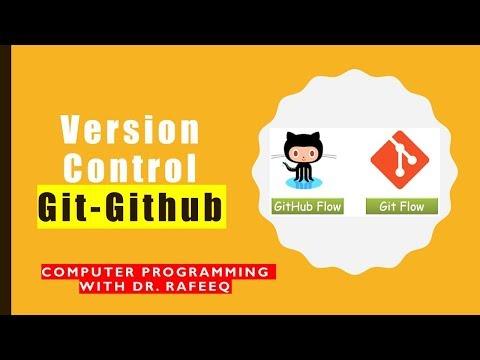Git & GitHub (VCS ) tutorial in 10 minutes 2019 thumbnail