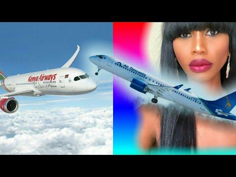 AIRBUS 220 - Air Tanzania  INAUZWA nchini KENYA, MANGE KIMAMBI kaona Mchezo.
