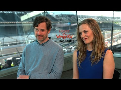 with Alicia Silverstone & Tom Everett Scott about Diary of a Wimpy Kid: The Long Haul
