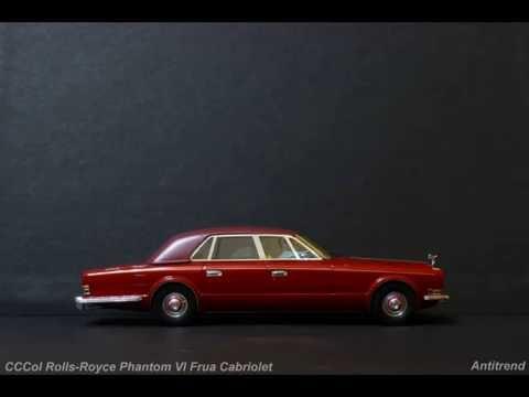 CCCol Rolls Royce Phantom VI Frua Cabriolet Slideshow