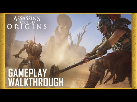 Assassin's Creed Origins: E3 2017 Gameplay Trailer [4K] | Ubisoft [US]