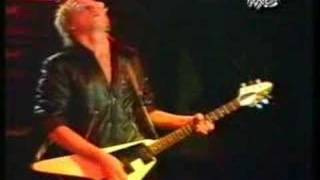 Michael Schenker Performing live in Hamburg,1981. [7]. Michael Sche...