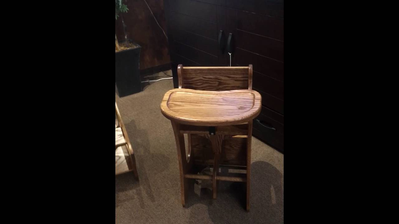 Amish 3 in 1 chair YouTube