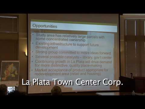ULI - Town of La Plata - Technical Assistance Panel Presentation