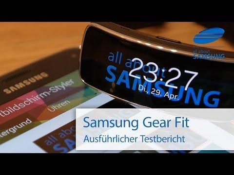 Samsung Gear Fit Review Test deutsch HD