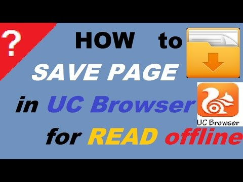Download How To Save Page In Uc Browser To Offline MP3, MKV