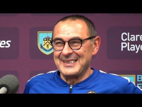 Burnley 0-4 Chelsea - Maurizio Sarri Full Post Match Press Conference - Premier League