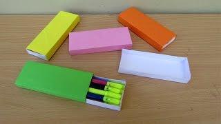 How to Make a Paper Sketch Box   Easy Tutorials