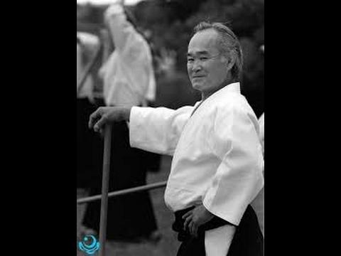 Kazuo Chiba equipment jo.Казуо Чиба техника с дзё.