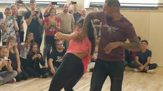 ZoukTime2018: with Mathilde & Alex in Saturday workshop demo ~ Zouk Soul
