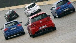 VW Golf R im Vergleich - Wer ist der Leitwolf unter den Kompakten? Teil 2/2