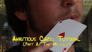 Ambitious Card (Tutorial - Part 2)