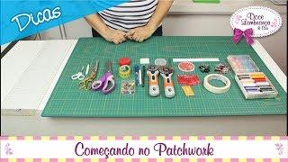 Começando no Patchwork – Costura Criativa