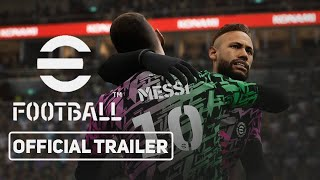 eFootball - Official Reveal Trailer(PES 2022)