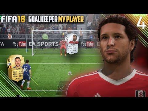 PENALTY vs. HAZARD😲 | FIFA 18 Career Mode Goalkeeper w/Storylines | Episode #4