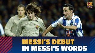 FEATURE REPORT    Leo Messi's debut in Porto