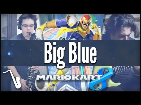 Mario Kart 8 / F-Zero: Big Blue - Jazz / 80's Cover || insaneintherainmusic