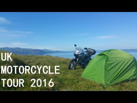 UK MOTORCYCLE TOUR 2016!