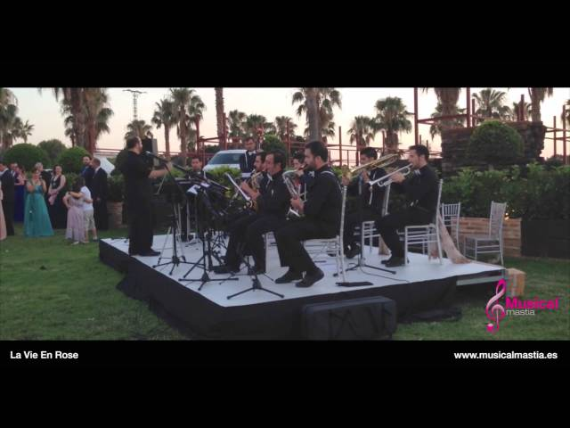 La Vie En Rose Bodas Murcia Musica bodas wedding Madrid Big band