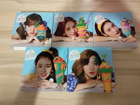 Unboxing / Photocard Reveal | Red Velvet Summer Magic Summer Mini Album Limiter Edition