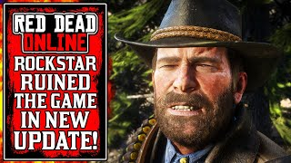 Rockstar RUINED The Game In Today's NEW Red Dead Online Update (RDR2)