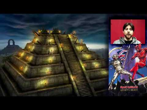 First Look at Iron Maiden: Legacy of the Beast's Mayan Arena