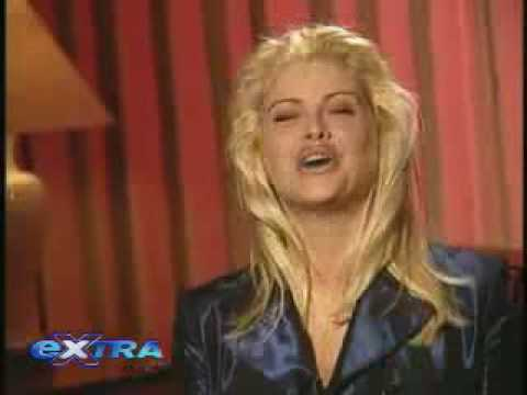Anna Nicole Smith on Extra (Lost Interview)
