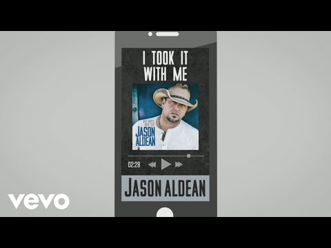Jason Aldean - I Took It with Me (Audio)