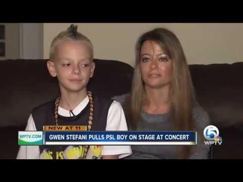 Gwen Stefani Pulls Bullied Port St. Lucie Boy Onstage During West Palm Beach Concert