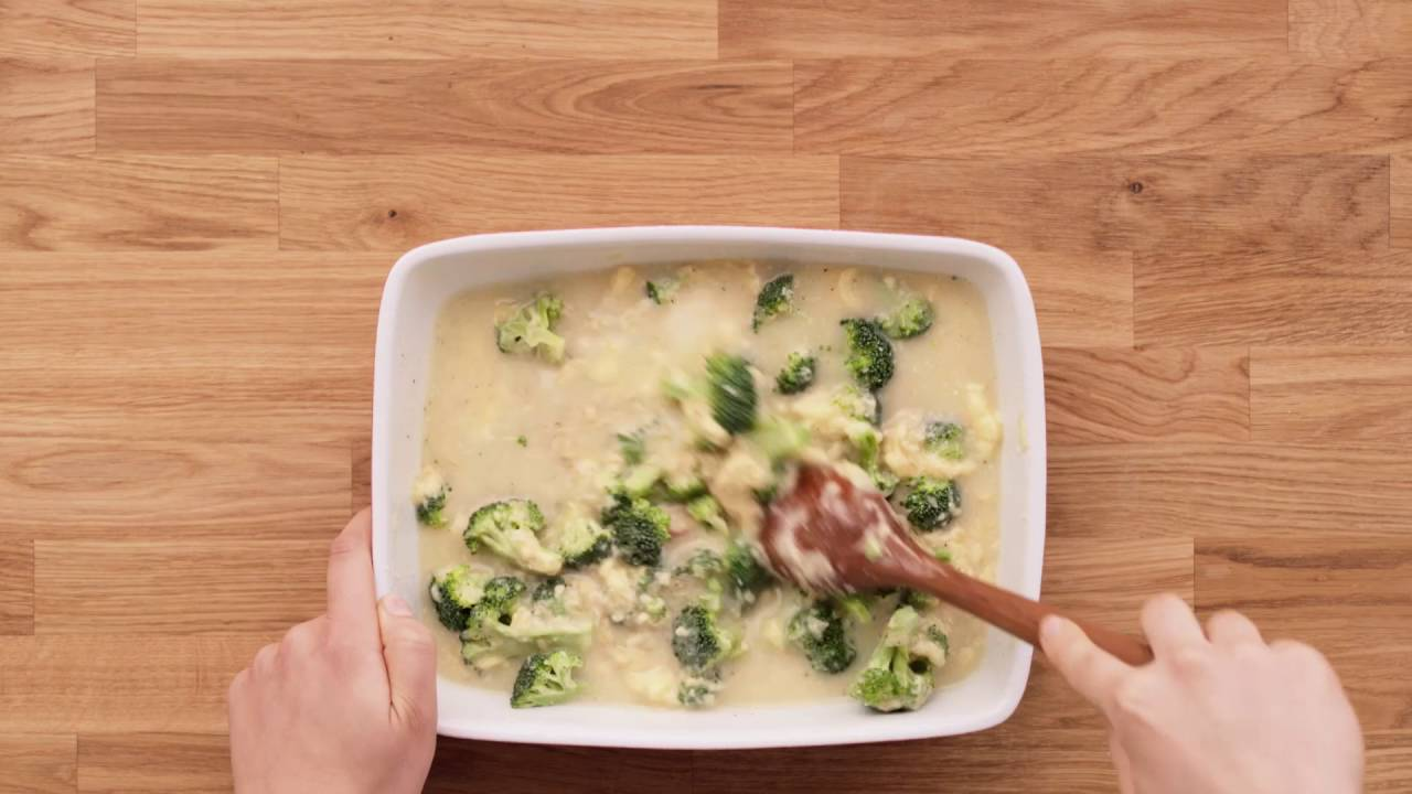 Campbell Kitchen Recipe Campbells Kitchen Cheesy Chicken Rice Alfredo Casserole Youtube