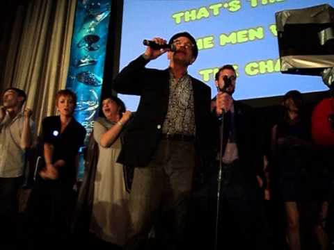 Star Trek Las Vegas 2015 karaoke party with Robert Picardo