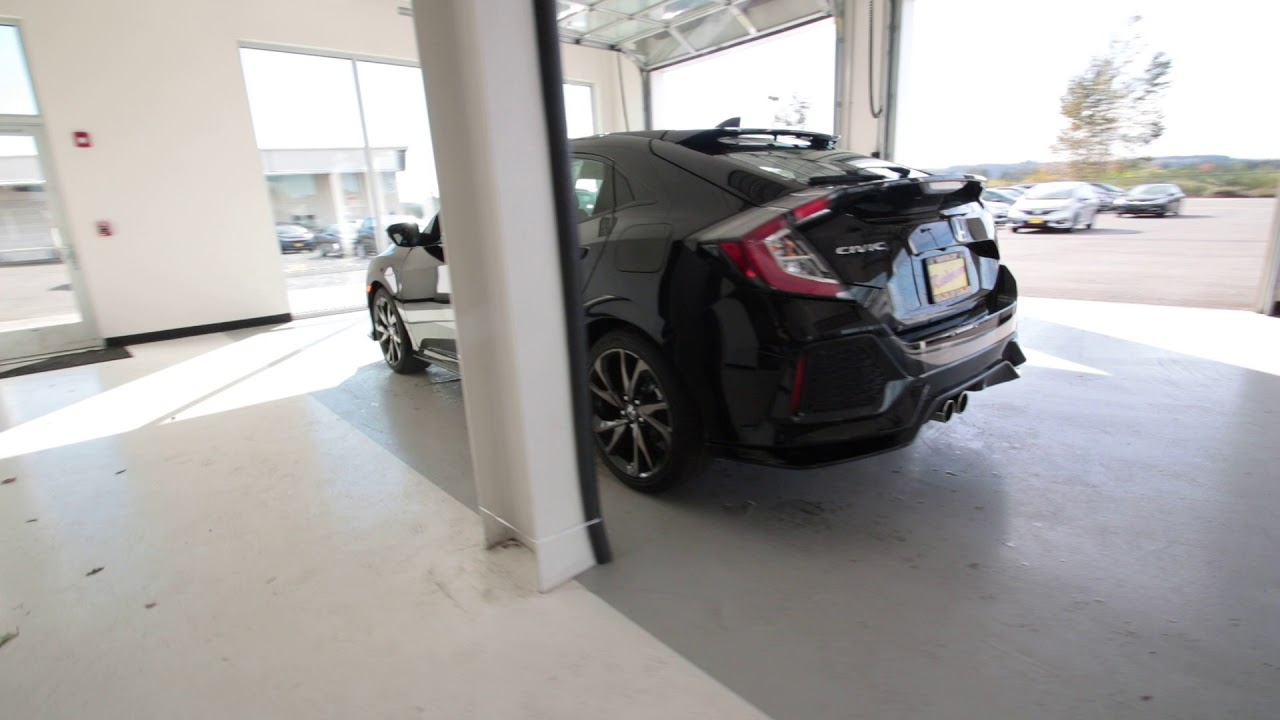 honda civic 2018 black. fine honda 2018 honda civic sport touring  crystal black pearl ju402091 seattle  sumner with honda civic black