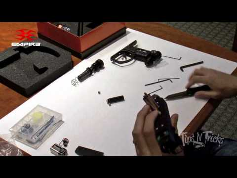 The Empire Axe Paintball Marker - Disassembly