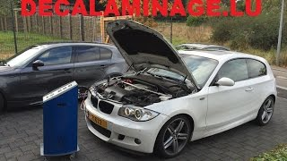 d calaminage moteur hydrog ne pour 2 bmw 118d 120d luxembourg. Black Bedroom Furniture Sets. Home Design Ideas