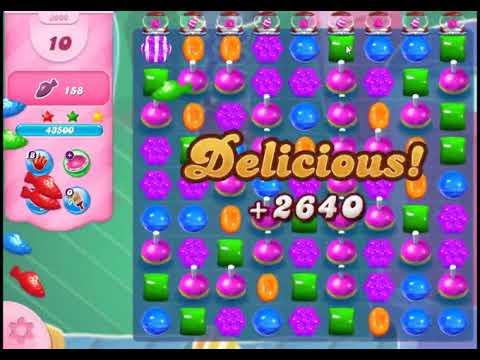 Candy Crush Saga Level 3000 - NO BOOSTERS