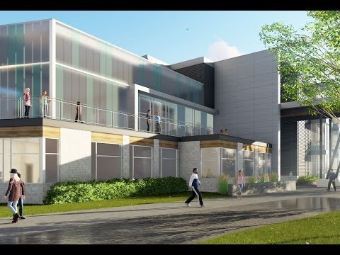 IKM Architects Chartiers Valley School District Design Animation