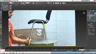 3DsMax для начинающих - Урок 1. Рисуем стул по фотографии