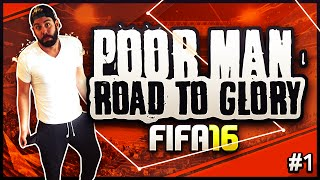 FIFA 16 - POOR MAN ROAD TO GLORY! INTRO episode!! Buying our first players! ULTIMATE TEAM