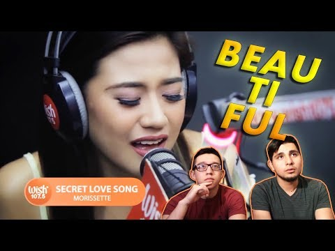 """GUYS REACT TO Morissette covers """"Secret Love Song"""" (Little Mix) LIVE on Wish 107.5 Bus"""