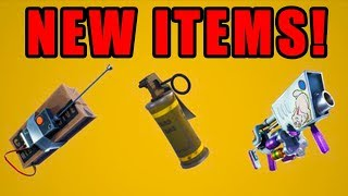NEW EASTER UPDATE! + C4 MINE AND GAS GRENADE INCOMING! (Fortnite Battle Royale)