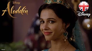 ALADDIN | Meet Naomi Scott - Princess Jasmine | Official Disney UK