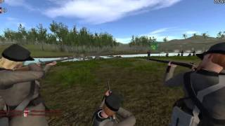 (Mount and blade North and South) EPIC CHARGE