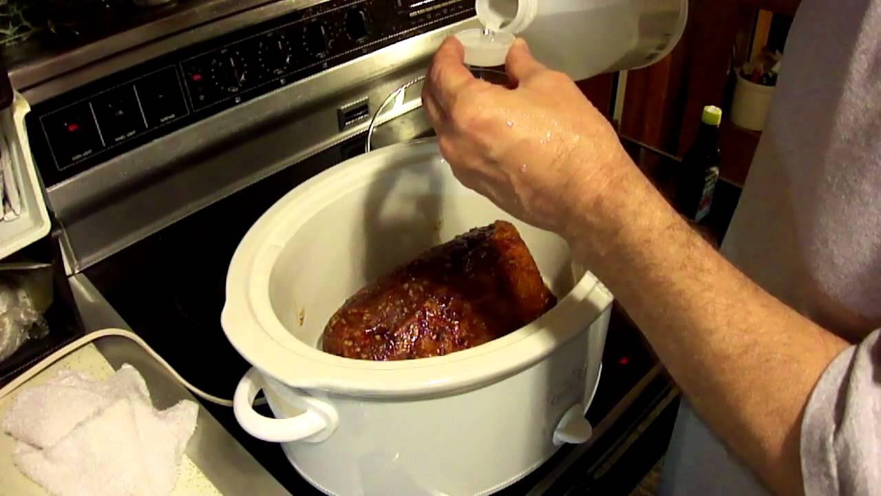 Crock Pot Pulled Pork Barbeque BBQ Recipe Boston Butt