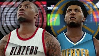 NBA 2K17 MyCAREER - 1st Game as a Starter!! Damian vs Shawn BATTLE!!