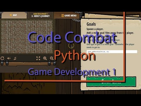 Code Combat Hero's Journey Level 3 Python Game Development Tutorial thumbnail