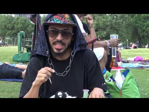 Dabbed at Reggae Fest Austin TX 2017