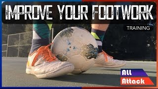 How to Improve Your Footwork in Soccer! 4 Exercises | Training thumbnail