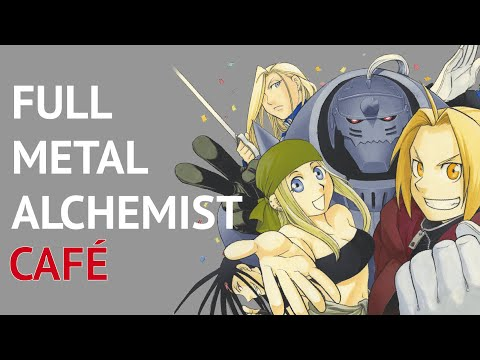 This Full Metal Alchemist Café in Japan Is Fantastic