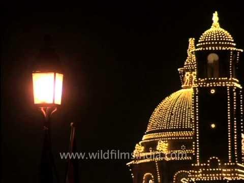 Flawless glow - Night lit Rashtrapati Bhavan