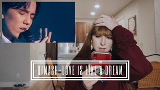 Vocal Coach reacts to Dimash-Love is like a dream